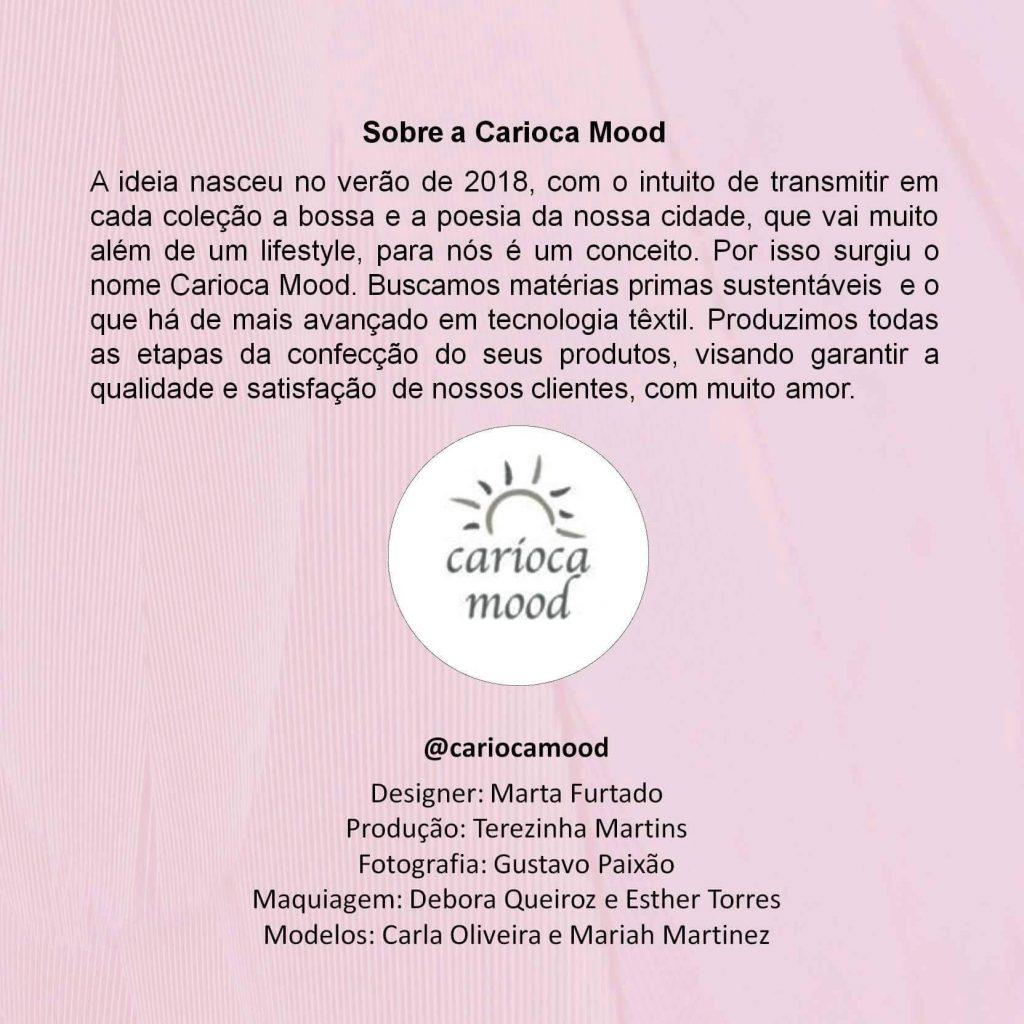 Carioca Mood, a beachwear das cariocas